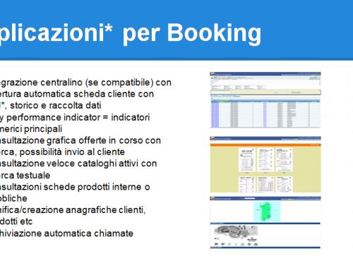 CRM Applicazioni per Booking