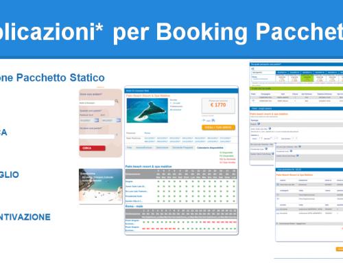 DIXCOVERY®Applicazioni per Booking Pacchetti